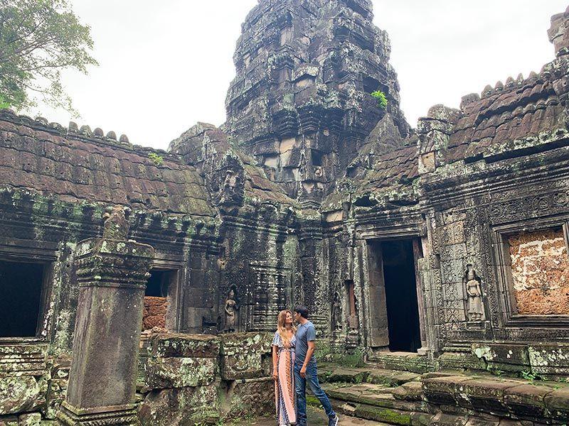 Templos de Angkor Banteay Kadei Camboya