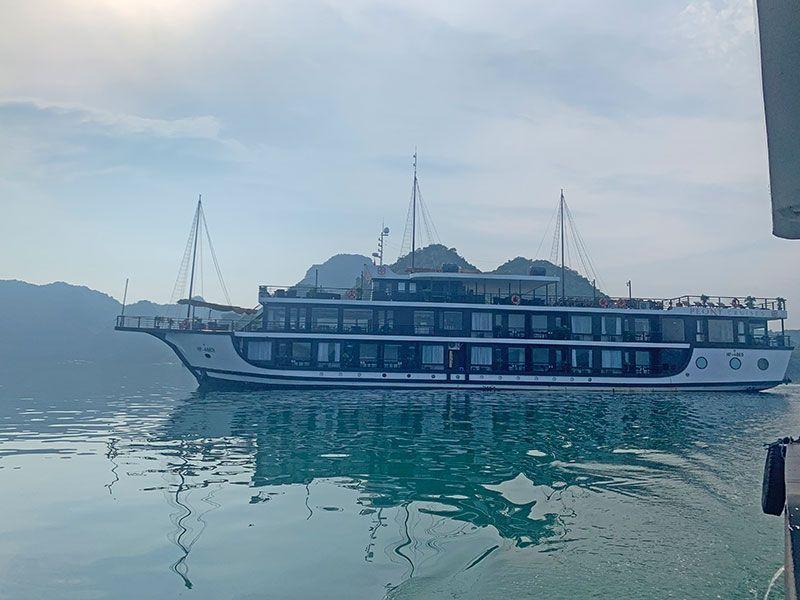 Barcos en Halong