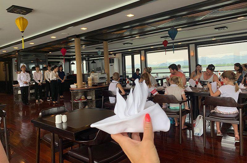Restaurante del barco