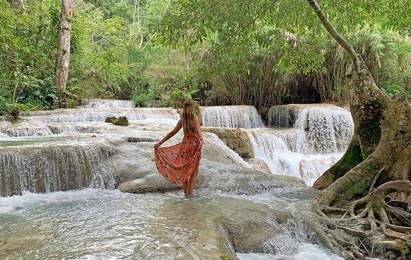 Cataratas Kuang Si Luang Prabang