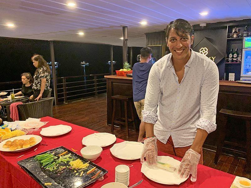 Curso de cocina Halong