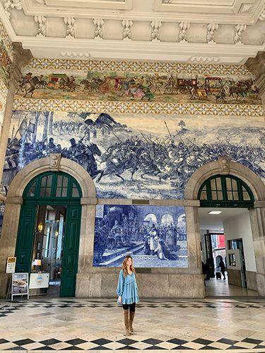 Estación San Bento Oporto