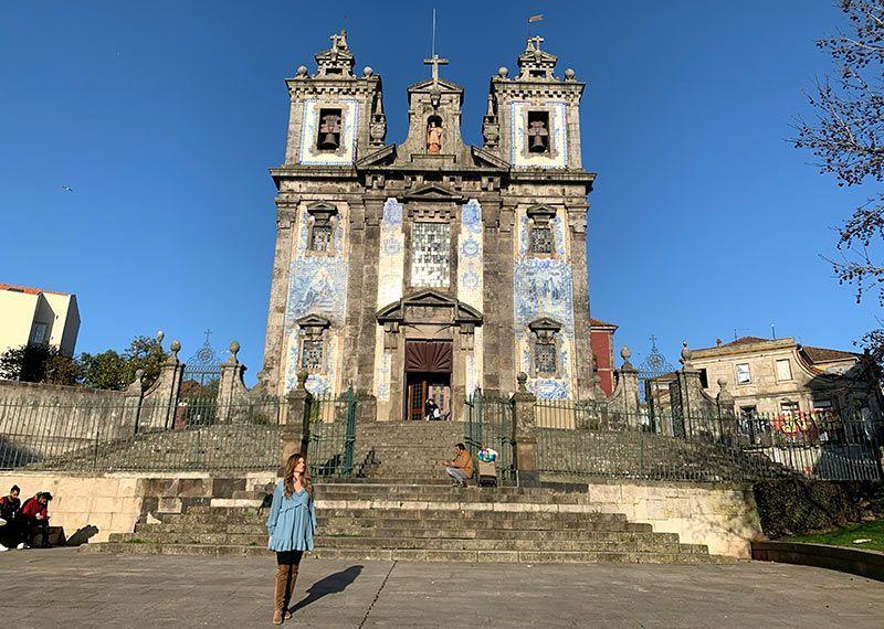 Iglesia San Ildefonso Oporto