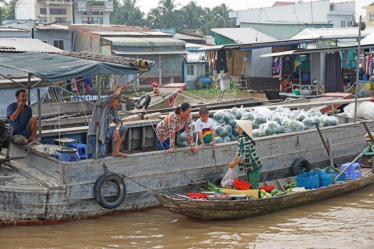 Mercado Cai Rang Mekong