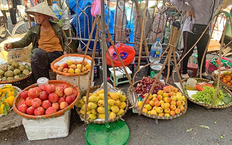 Mercado Dong Xuang Hanoi
