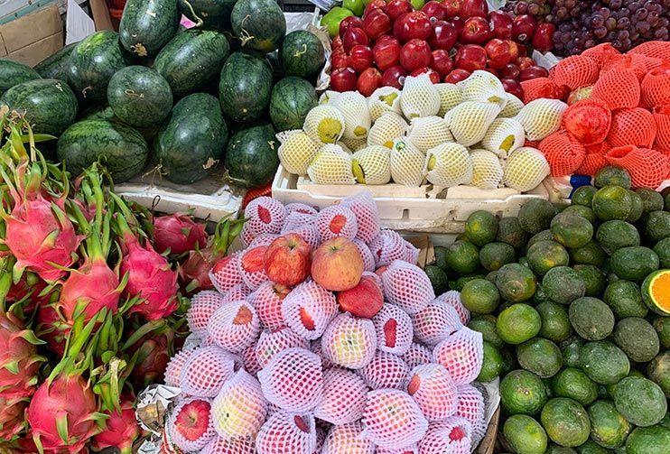 Mercado local de Hoi An