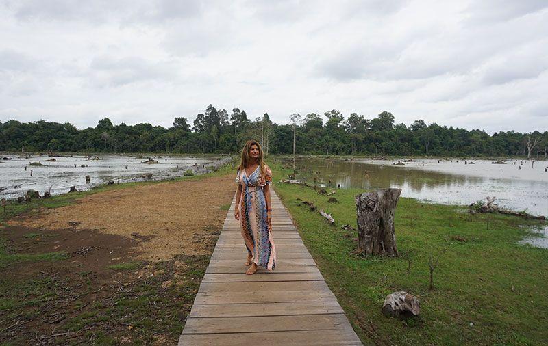 Templos de Angkor Neak Pean Camboya