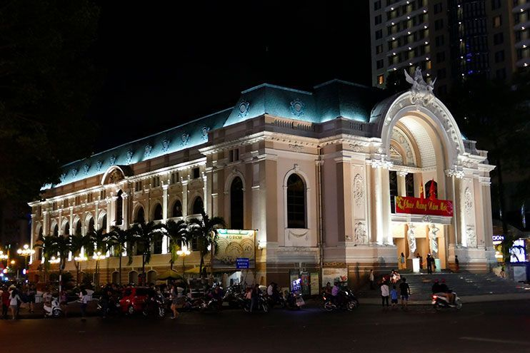 Ópera de Saigon que ver en Ho Chi MInh