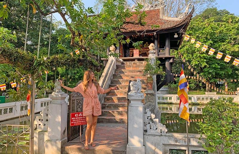 Pagoda de Pilar único Hanoi