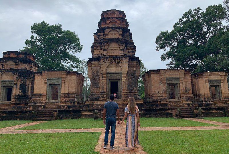 Templos de Angkor Prasat Kravan Camboya