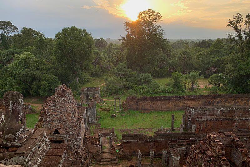 Templos de Angkor Pre Rup Camboya