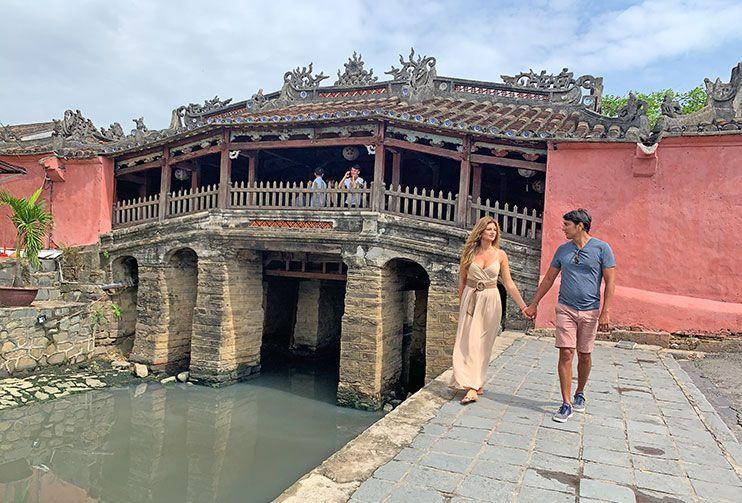 Puente Cubierto japonés Hoi An