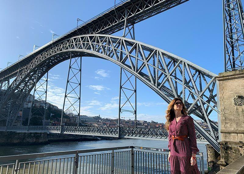 Puente Don Luis Oporto