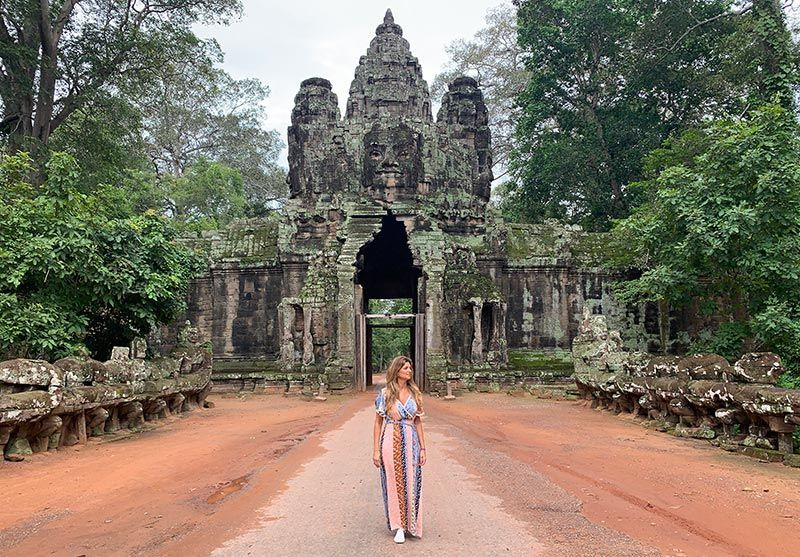 Puerta Norte Angkor Thom