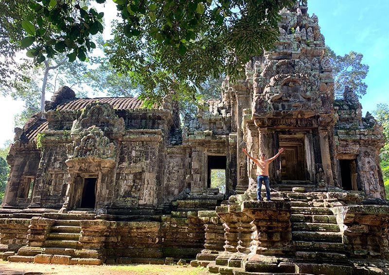 Templo de Thommanom Camboya