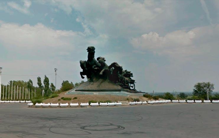 Monumento Tachanka Rostovite