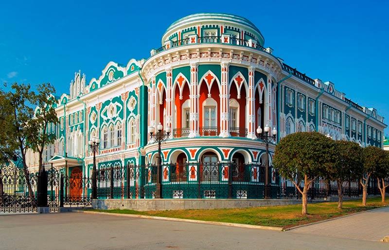 Que ver en Ekaterimburgo Casa de Sevastyanov