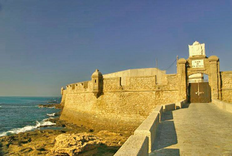 Castillo de San Sebastián Cádiz