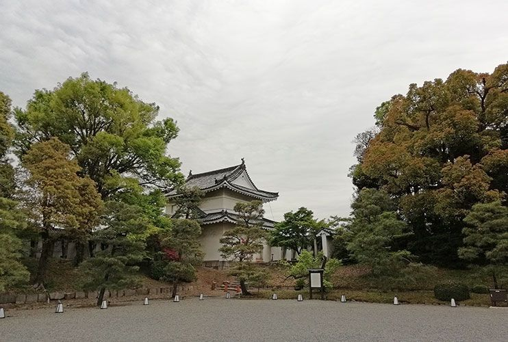 Castillo Nijo Kioto