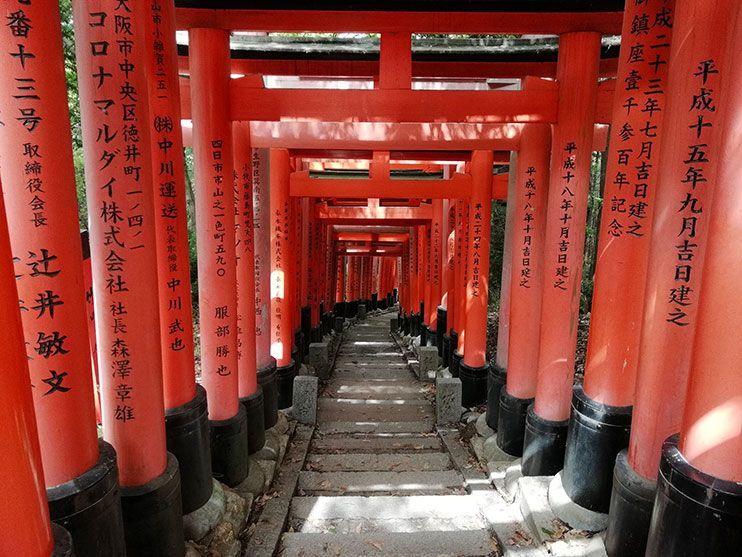 Ruta por Fushimi Inari