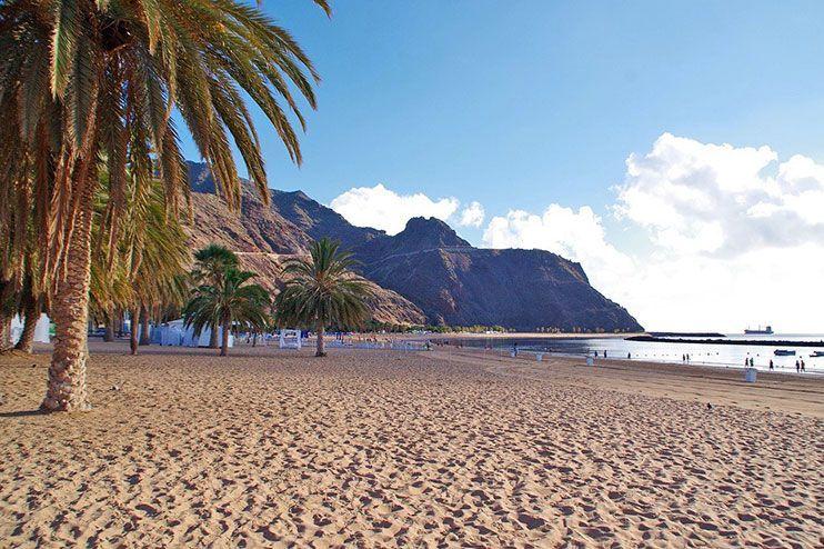 Playas mas bonitas de tenerife las Teresitas Tenerife