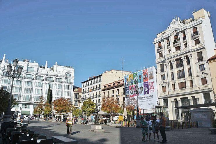 Plaza Santa Ana Madrid