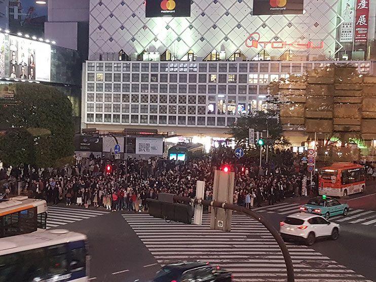 Cruce de Shibuya Tokio