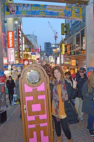 Takeshita Dori Tokio harajuku