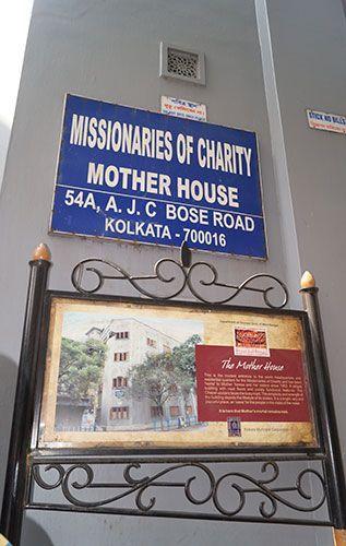 Casa de la Madre Teresa de Calcuta