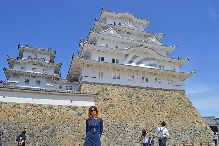 visitar el castillo de Himeji