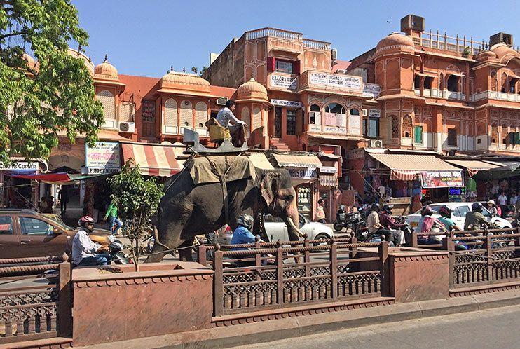Ciudad Rosa Jaipur