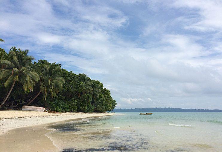 Playa número 5 Havelock