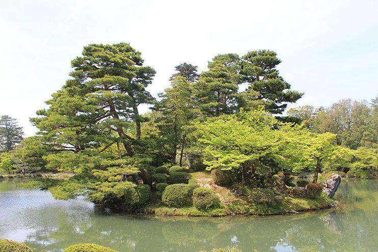 Jardines Kenkoruen Kanazawa
