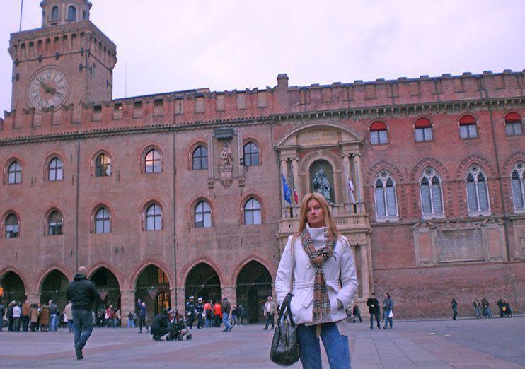 Piazza Maggiore Palacio Comuna