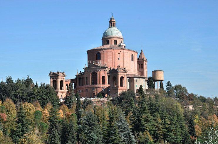 Santuario San Lucca Bolonia