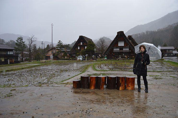 aldeas de japón