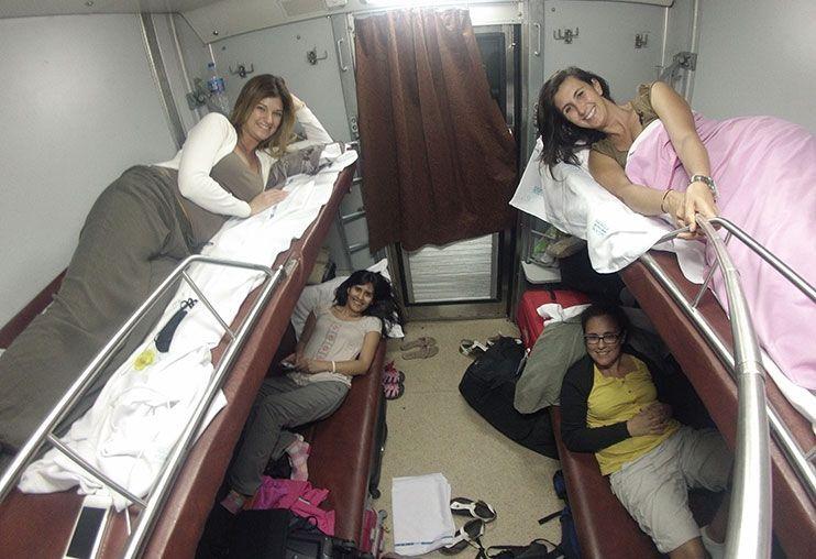 Tren nocturno India