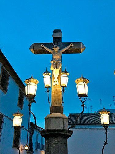 Cristo de los faroles Córdoba