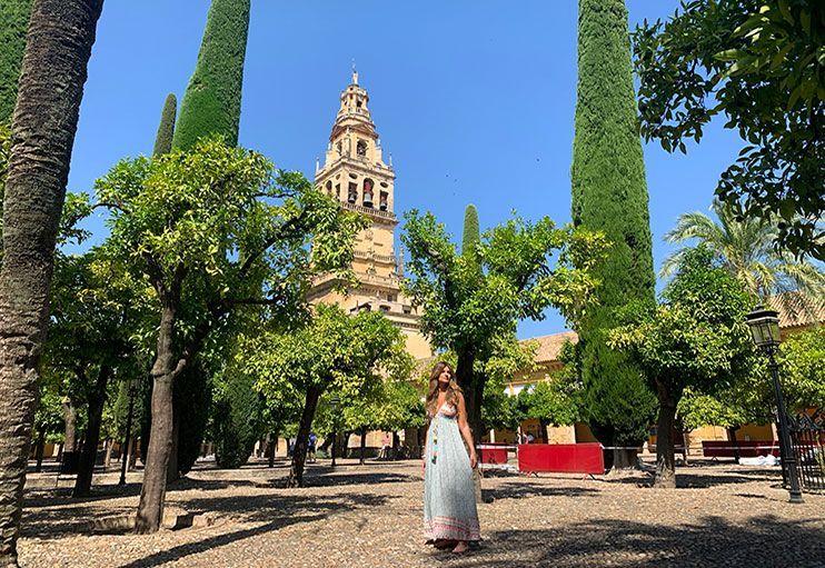 Patio de los naranjos Córdoba