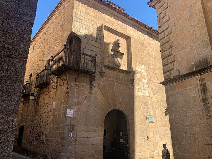 Palacio Carvajal caceres