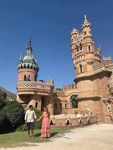 Torre oriental del monumento de colomares