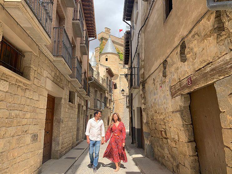 Pasear por las calles de Olite