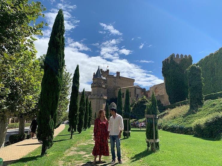 Jardines del Palacio Real de Olite