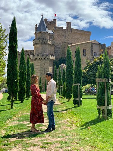 Jardines del Palacio de Olite