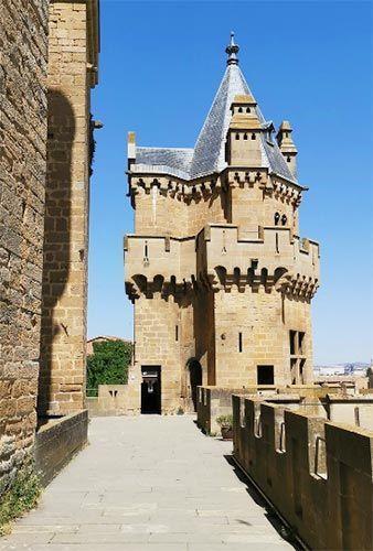 Torres del Palacio real de Olite