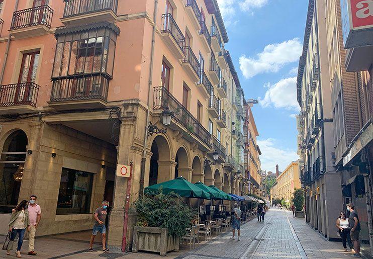 Calle Portales Logroño