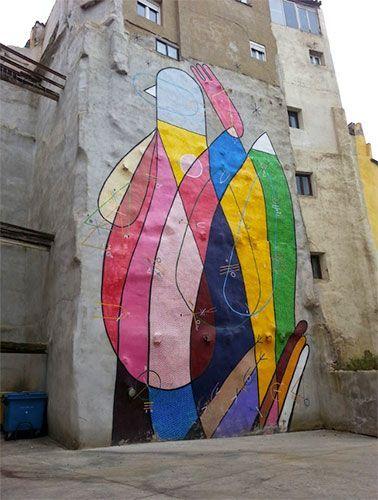 Arte callejero que ver en Tudela