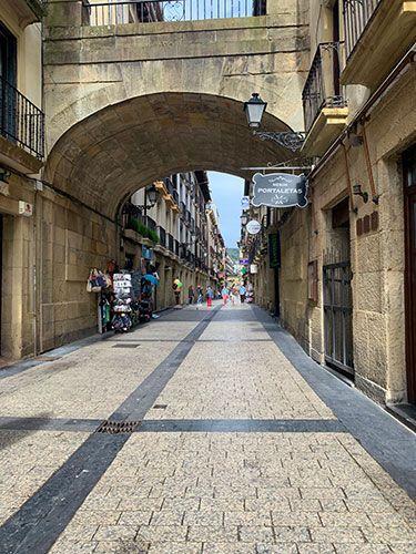 Calle Mayor San Sebastián