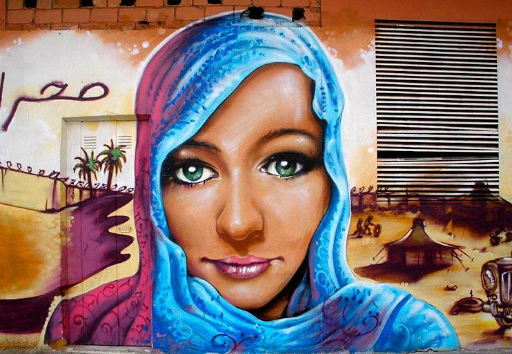 Ruta de los murales en Vitioria