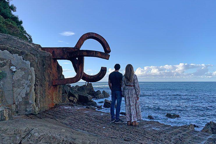 Peine del viento San Sebastián
